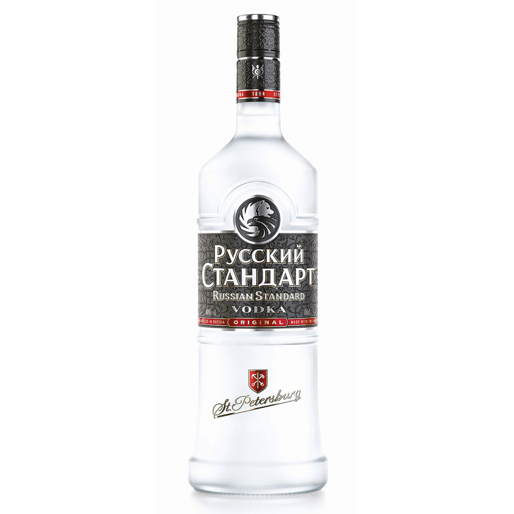 Russian Standard Vodka, 40%, 1 Liter